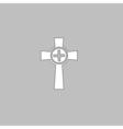 Tombstone computer symbol vector image vector image