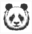 Portrait of Panda Cute attractive face bears vector image