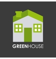 green house design vector image