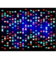 An abstract example of DNA fingerprinting vector image vector image