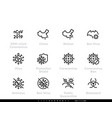 coronavirus mystery virus from china or wuhan vector image vector image