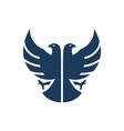 double-headed-eagle vector image
