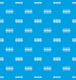 Fence decorative pattern seamless blue