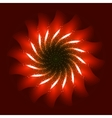 Firework ornament vector image vector image