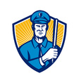 Policeman Police Officer vector image vector image