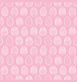 seamless background for happy easter decorative vector image vector image