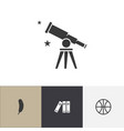 set of 4 editable teach icons includes symbols vector image