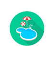 swimming pool icon sign symbol vector image vector image