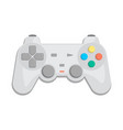 wireless joypad for game console icon vector image