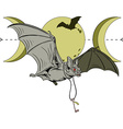 Bat key vector image