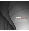 dark gray elegant business background vector image vector image