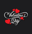 Happy valentines day greeting design