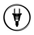 plug vector image