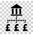pound bank payments icon vector image vector image