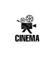sketch film camera design template vector image