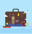 travel to london great britain concept vector image