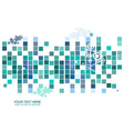 Colorful mosaic pattern design vector image