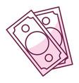 bill money dollar icon vector image vector image