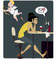 Dangers of love vector image vector image