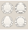 Label templates2 vector image vector image