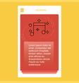 love music mobile vertical banner design design vector image
