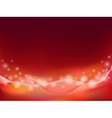 red orange abstract background vector image