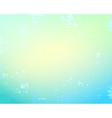 Abstract gentle blue background vector image vector image
