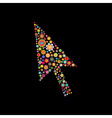 arrow cursor vector image vector image