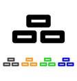 bricks stroke icon vector image