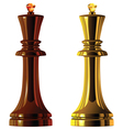 chess king vector image vector image