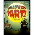 Halloween moonlight night background EPS 10 vector image