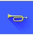 Metallic Horn vector image