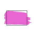 paint brush stroke brush line or texture vector image