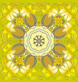 floral seamless background for textile or book vector image vector image