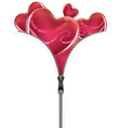 Heart with Open Zipper2 vector image vector image