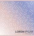 seamless abstract pattern whith dots and lines vector image