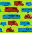 Seamless Caravan Pattern vector image vector image