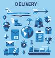 Shopping communication vector image