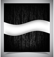Abstract dark wood background vector image