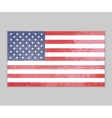 america flag grunge background vector image vector image