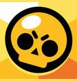 brawl stars emblem vector image vector image