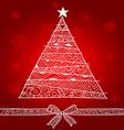 christmas tree1 vector image