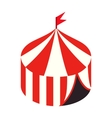 Circus tent isometric 3d icon vector image