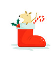cute funny mouse for chinese new year vector image vector image