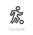 Football soccer sport icons