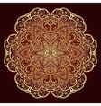 Mandala Ethnic decorative element vector image