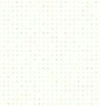 polka dot flowers seamless texture vector image