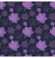 seamless autumn patternabstract purple and pink vector image vector image