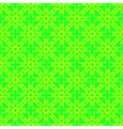 Bright green and yellow geometric seamless pattern vector image