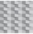 abstract grey block geometric seamless pattern vector image